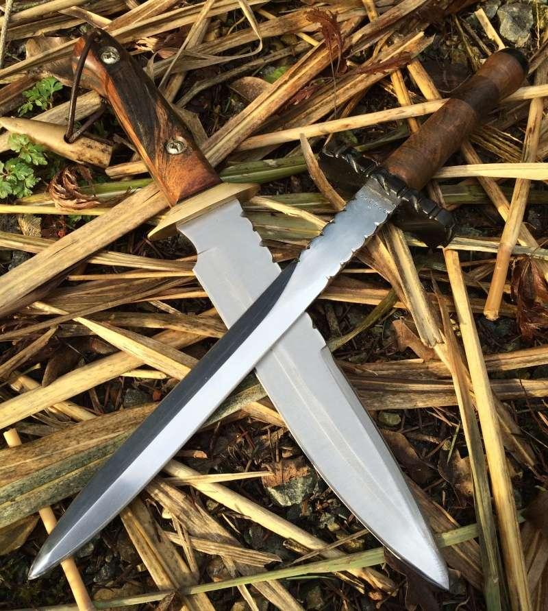 Personnalisations  de couteaux par Sébastien - Page 2 Dague_10