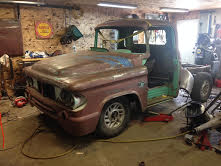 60 Dodge pickup Build Truck10