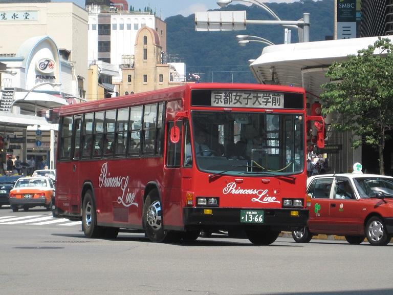 [2010年の夏][京都市] 京都急行バス Img_4811