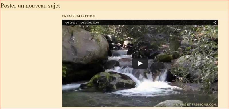 insertion - Tuto - Insertion d'une vidéo youtube 610