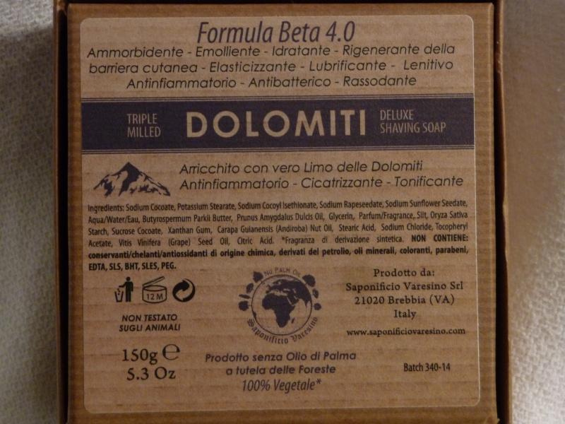 Saponificio Varesino Dolomiti P1080019