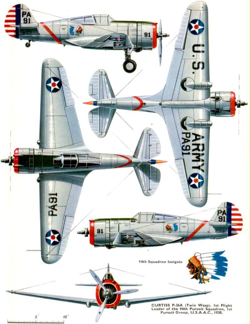 ACADEMY  CURTISS P-36A HAWK 1/48  montage pas à pas  03_cam10