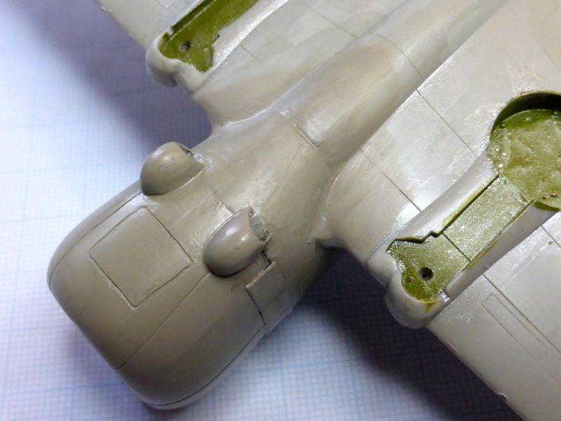 ACADEMY  CURTISS P-36A HAWK 1/48  montage pas à pas  12-1_n10