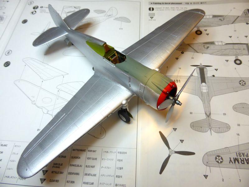 ACADEMY  CURTISS P-36A HAWK 1/48  montage pas à pas  - Page 2 15-1_l10