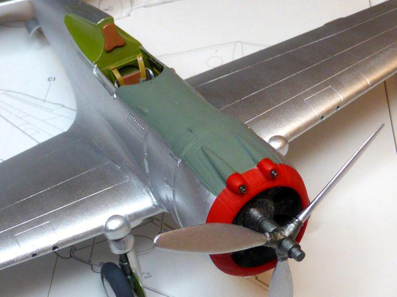 ACADEMY  CURTISS P-36A HAWK 1/48  montage pas à pas  - Page 2 15-3_l10