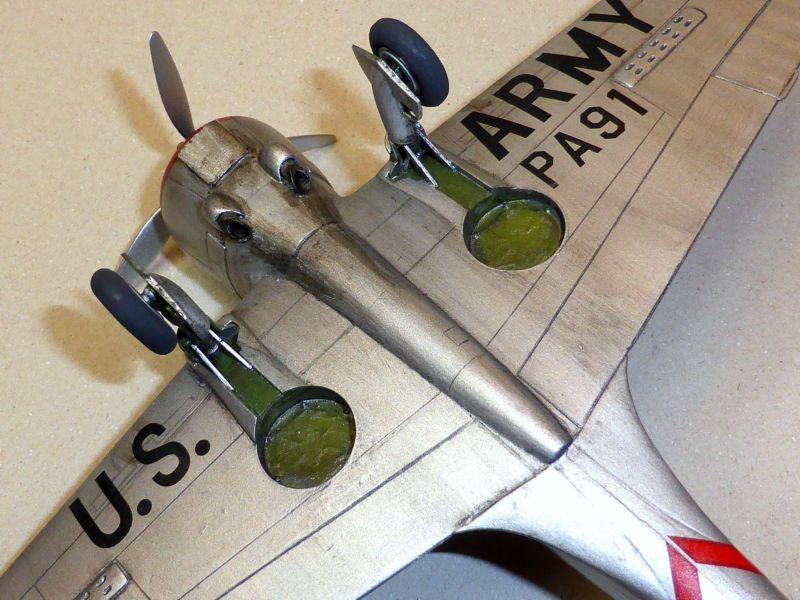 ACADEMY  CURTISS P-36A HAWK 1/48  montage pas à pas  - Page 2 16-10_10