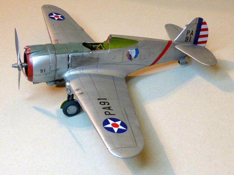 ACADEMY  CURTISS P-36A HAWK 1/48  montage pas à pas  - Page 2 16-1_d10