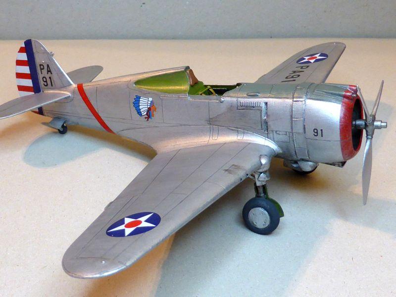 ACADEMY  CURTISS P-36A HAWK 1/48  montage pas à pas  - Page 2 16-3_d10