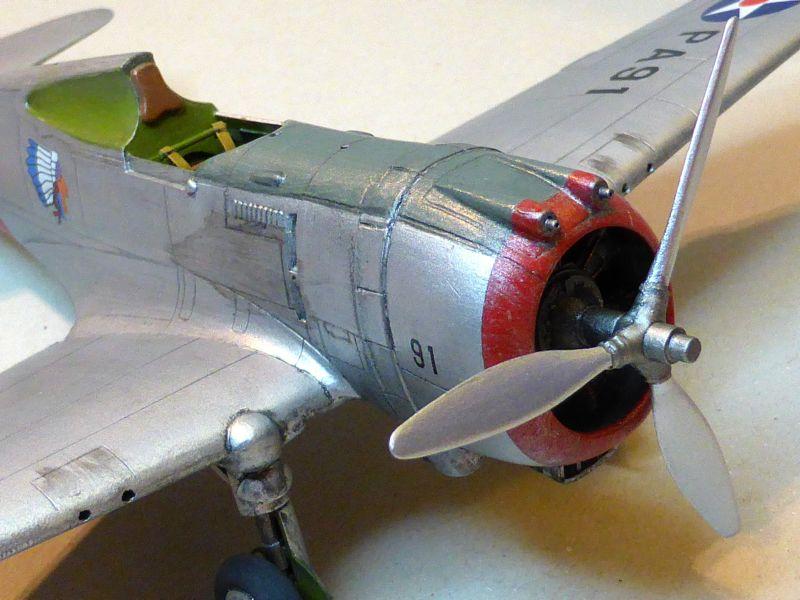 ACADEMY  CURTISS P-36A HAWK 1/48  montage pas à pas  - Page 2 16-4_d10