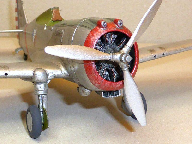 ACADEMY  CURTISS P-36A HAWK 1/48  montage pas à pas  - Page 2 16-5_d10