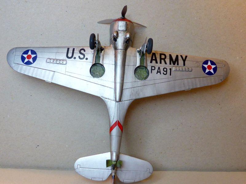 ACADEMY  CURTISS P-36A HAWK 1/48  montage pas à pas  - Page 2 16-6_d10