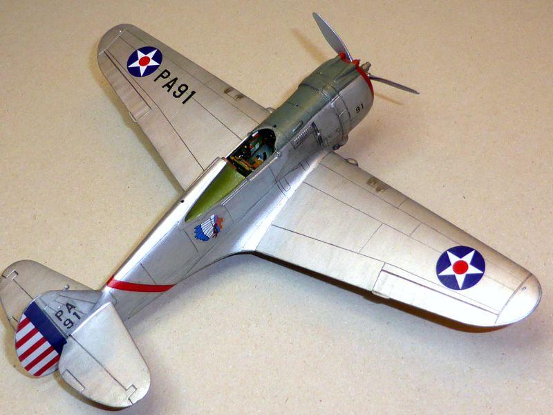 ACADEMY  CURTISS P-36A HAWK 1/48  montage pas à pas  - Page 2 16-7_d10
