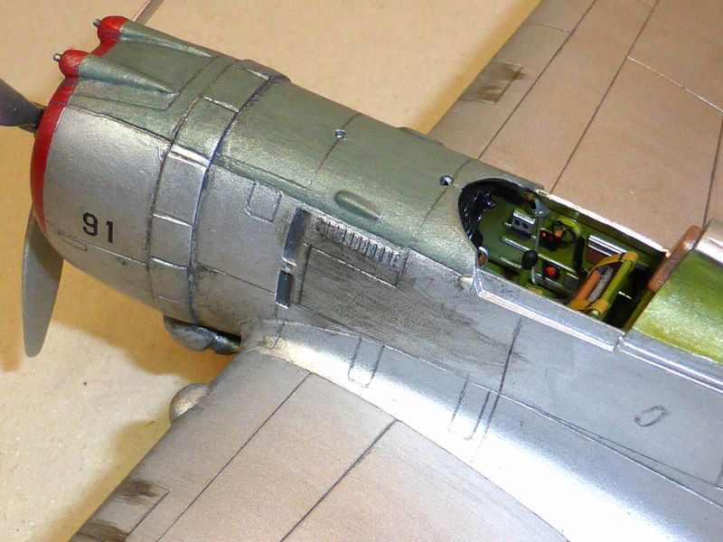 ACADEMY  CURTISS P-36A HAWK 1/48  montage pas à pas  - Page 2 16-9_d10