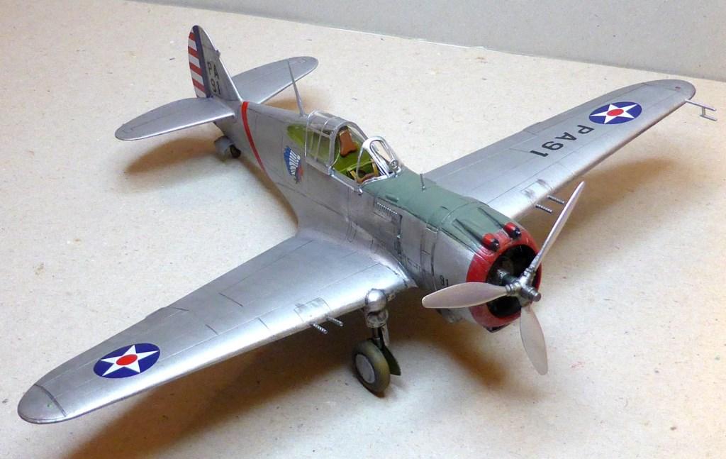 ACADEMY  CURTISS P-36A HAWK 1/48  montage pas à pas  - Page 2 2014-165