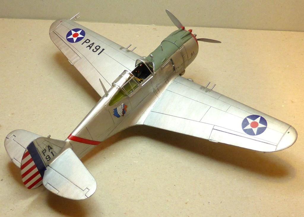 ACADEMY  CURTISS P-36A HAWK 1/48  montage pas à pas  - Page 2 2014-166
