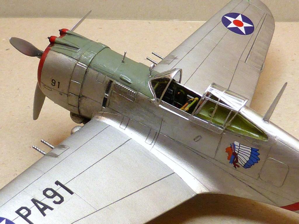 ACADEMY  CURTISS P-36A HAWK 1/48  montage pas à pas  - Page 2 2014-167