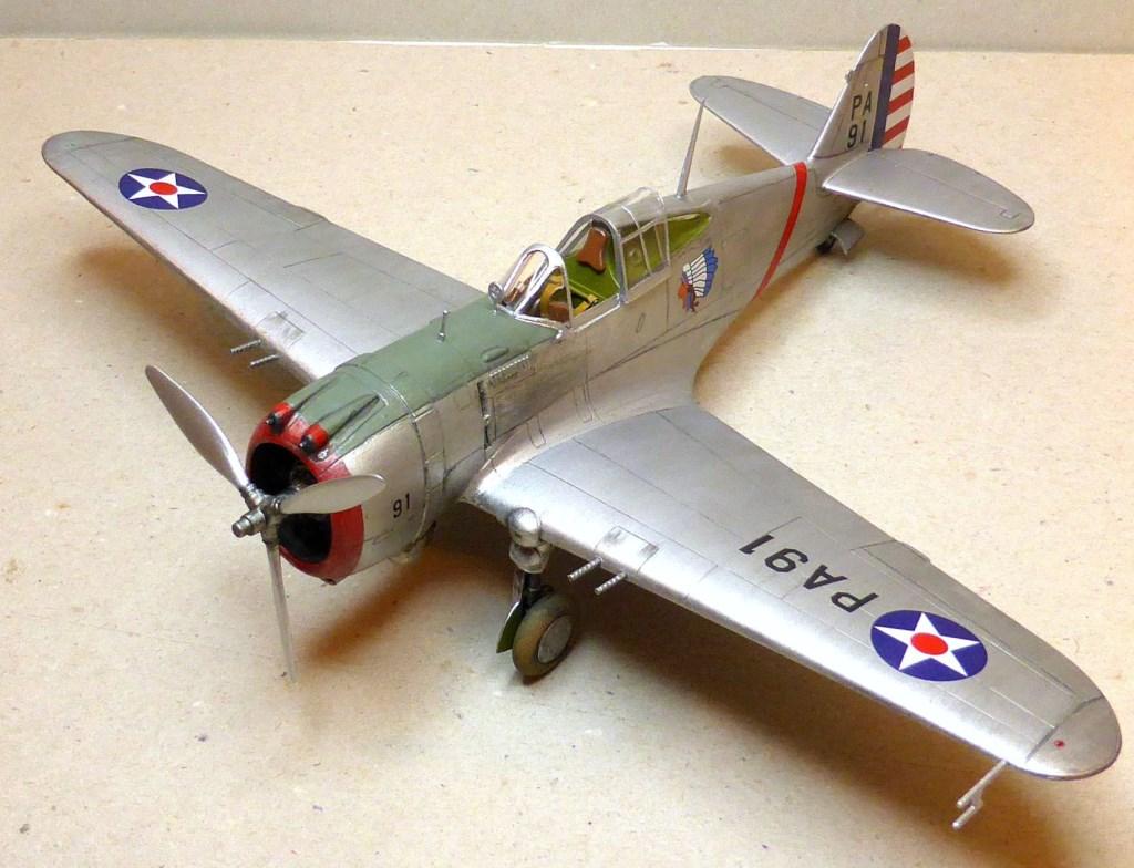 ACADEMY  CURTISS P-36A HAWK 1/48  montage pas à pas  - Page 2 2014-168