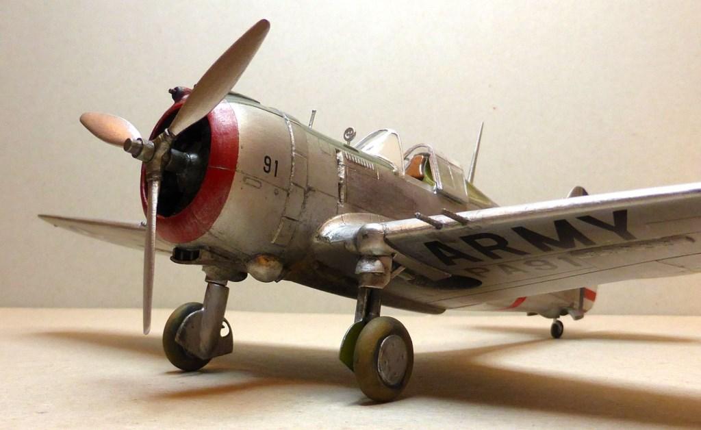 ACADEMY  CURTISS P-36A HAWK 1/48  montage pas à pas  - Page 2 2014-169