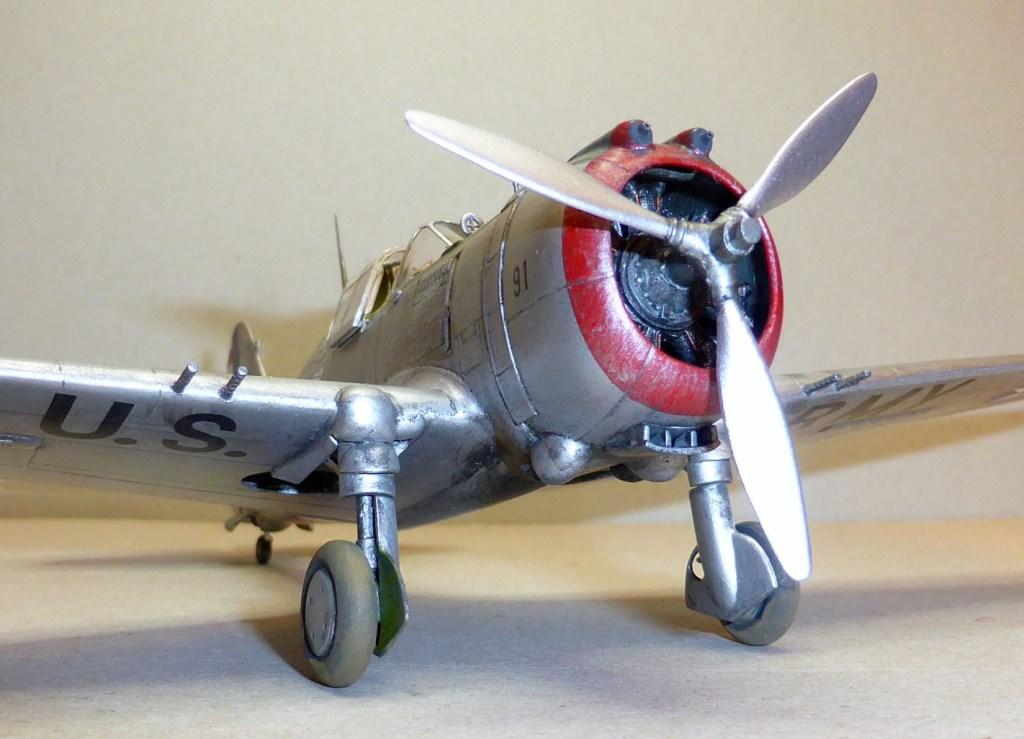 ACADEMY  CURTISS P-36A HAWK 1/48  montage pas à pas  - Page 2 2014-170