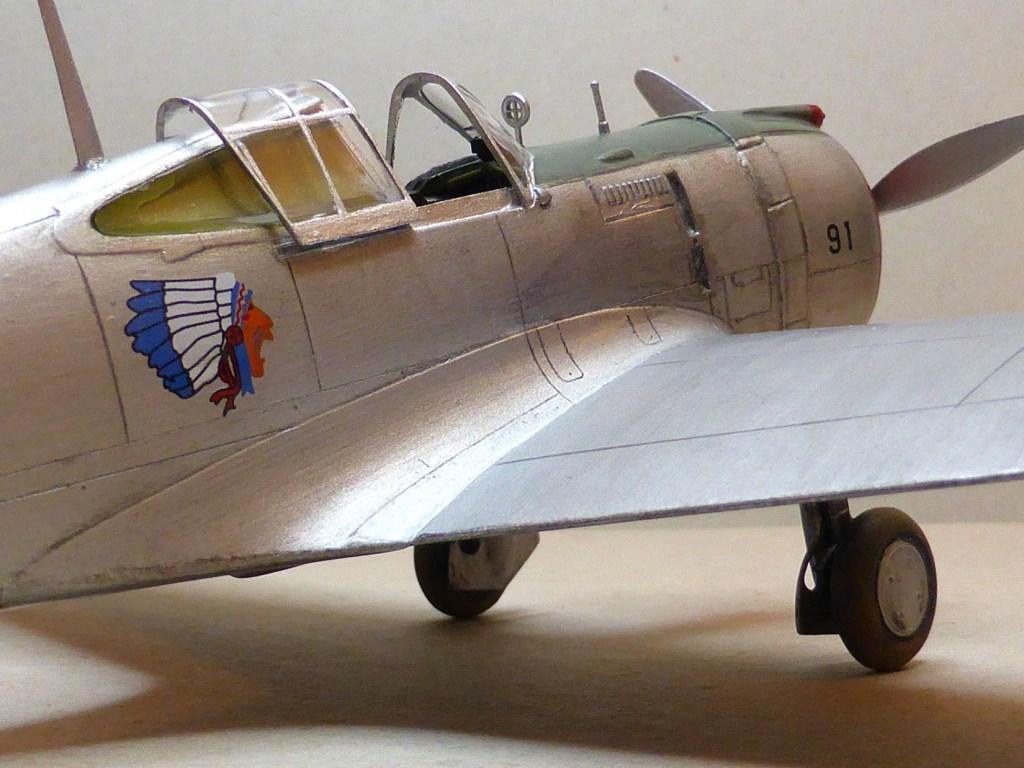 ACADEMY  CURTISS P-36A HAWK 1/48  montage pas à pas  - Page 2 2014-171