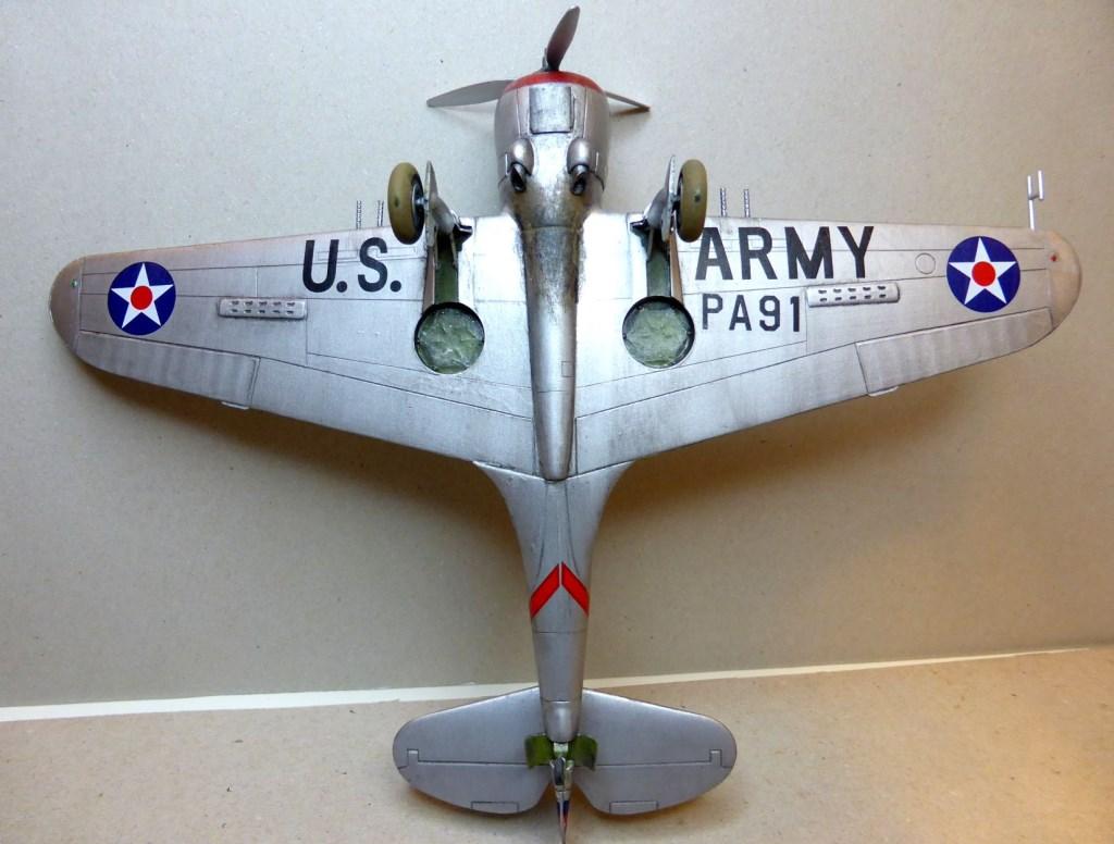 ACADEMY  CURTISS P-36A HAWK 1/48  montage pas à pas  - Page 2 2014-172