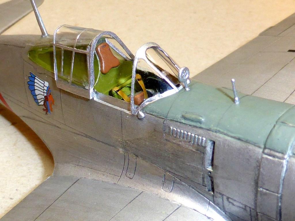 ACADEMY  CURTISS P-36A HAWK 1/48  montage pas à pas  - Page 2 2014-174