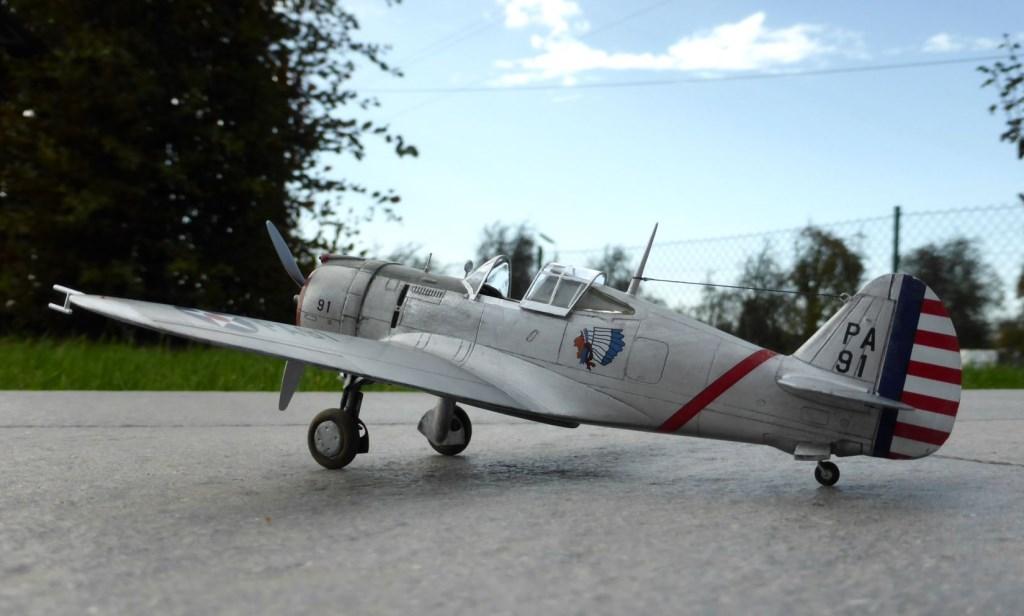 ACADEMY  CURTISS P-36A HAWK 1/48  montage pas à pas  - Page 2 2014-180