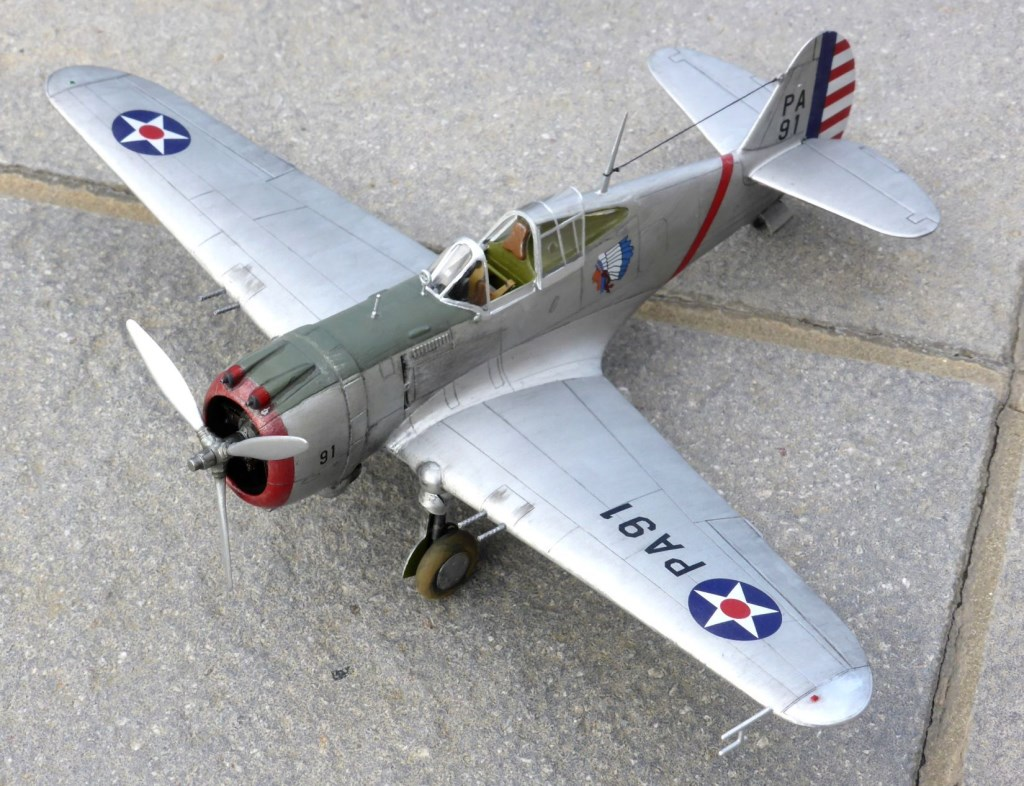 ACADEMY  CURTISS P-36A HAWK 1/48  montage pas à pas  - Page 2 2014-182