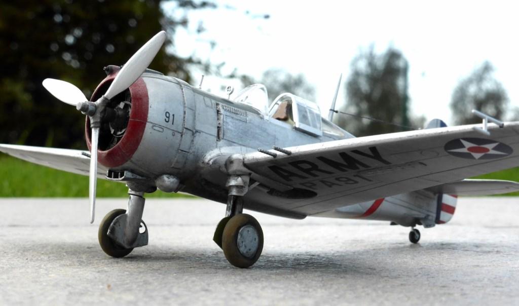 ACADEMY  CURTISS P-36A HAWK 1/48  montage pas à pas  - Page 2 2014-183