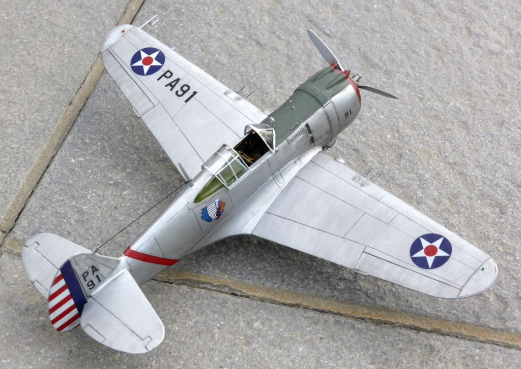ACADEMY  CURTISS P-36A HAWK 1/48  montage pas à pas  - Page 2 2014-185