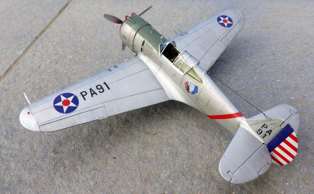 ACADEMY  CURTISS P-36A HAWK 1/48  montage pas à pas  - Page 2 2014-186