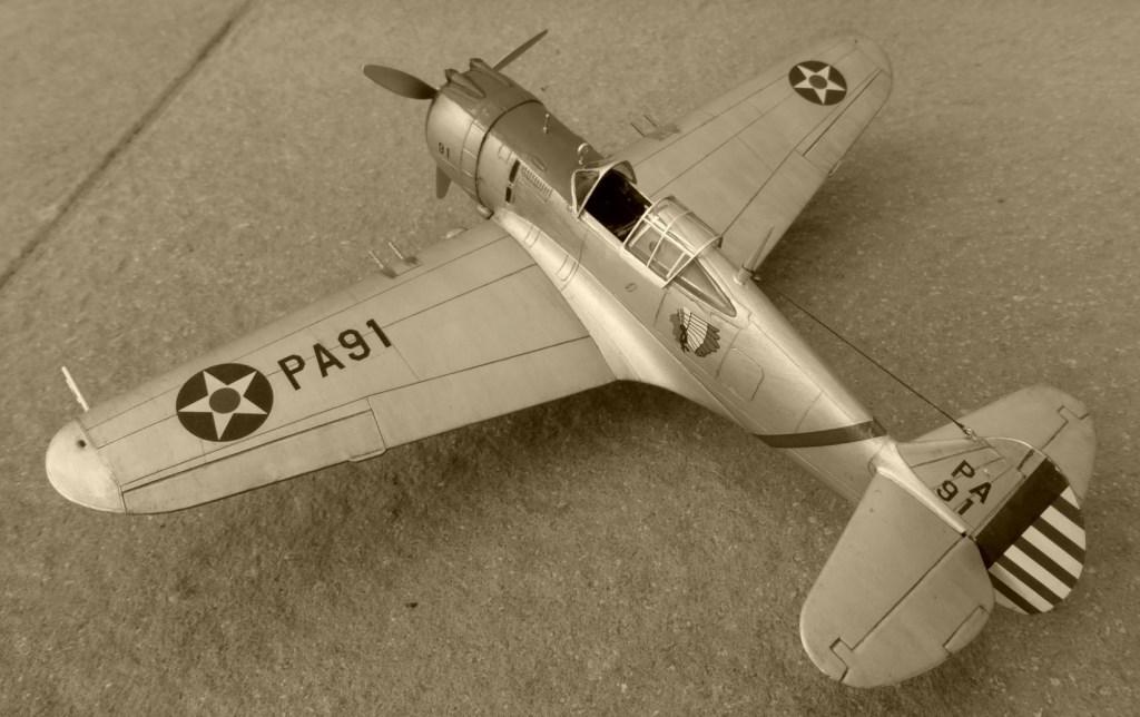 ACADEMY  CURTISS P-36A HAWK 1/48  montage pas à pas  - Page 2 2014-187