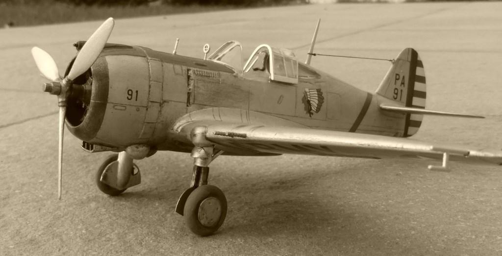 ACADEMY  CURTISS P-36A HAWK 1/48  montage pas à pas  - Page 3 2014-188