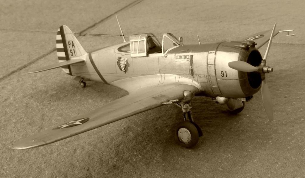 ACADEMY  CURTISS P-36A HAWK 1/48  montage pas à pas  - Page 2 2014-189