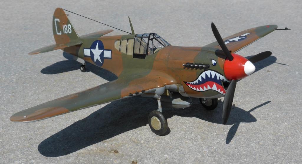 ACADEMY  CURTISS P-36A HAWK 1/48  montage pas à pas  - Page 3 2014-190
