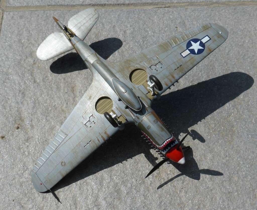 ACADEMY  CURTISS P-36A HAWK 1/48  montage pas à pas  - Page 3 2014-191