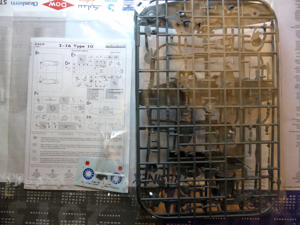 [eduard] Polikarpov  I-16 type 10 2015-017