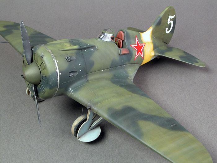 [eduard] Polikarpov  I-16 type 10 Camo_310