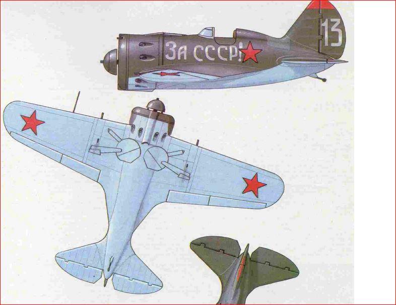 [eduard] Polikarpov  I-16 type 10 Camo_410