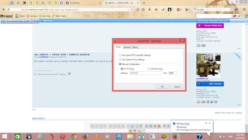 AIRTEL + OPEN-VPN + SIMPLE SERVER Screen11