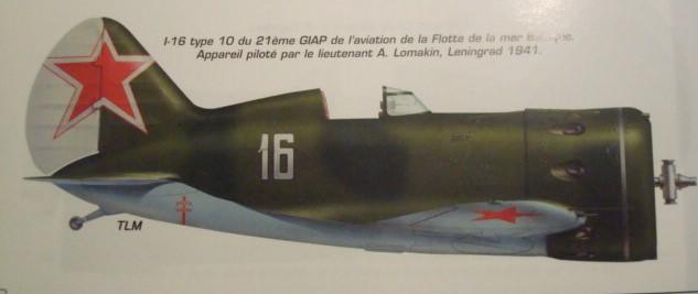 [eduard] Polikarpov  I-16 type 10 Dsc01825