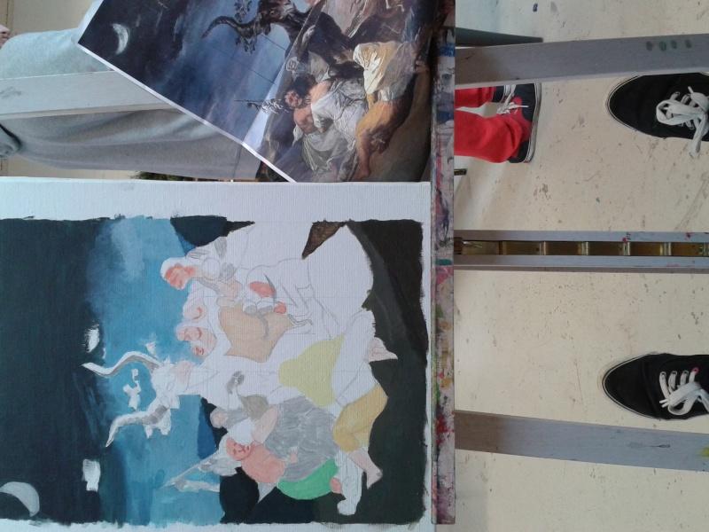 Exposition de Dessins - Rozi 20150311