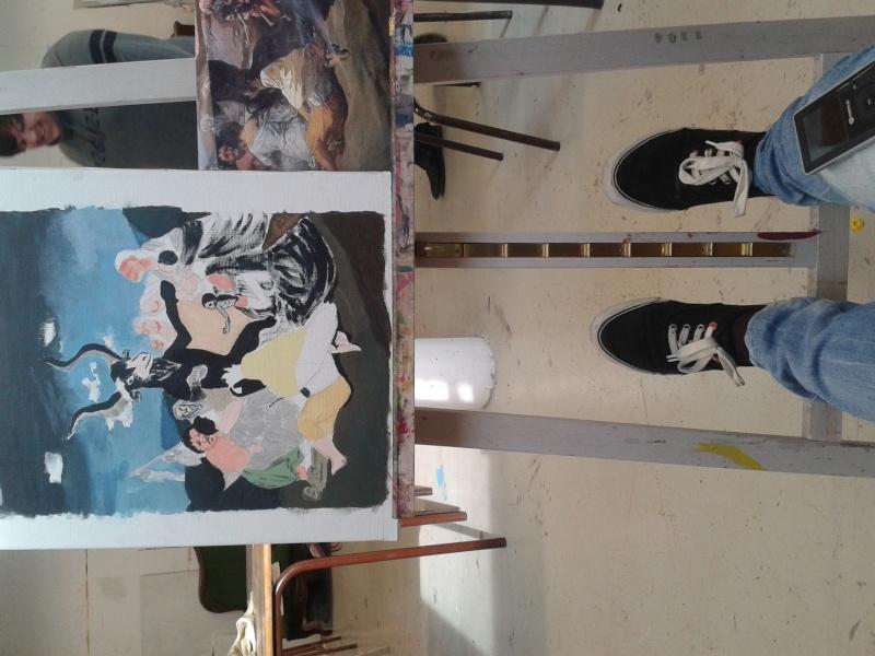 Exposition de Dessins - Rozi 20150313