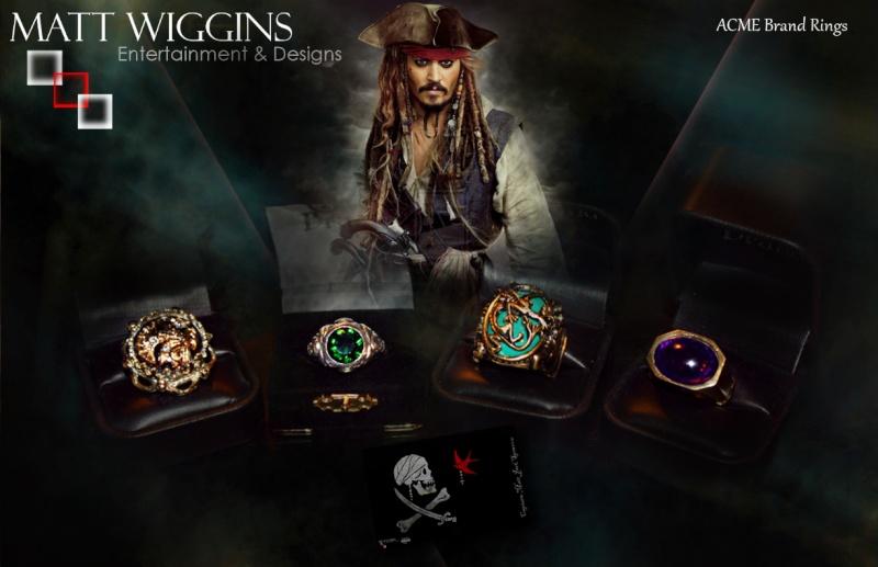 MWE&D Adventures of Captain Jack: ACME RINGS SET COMPLETE **FINALLY** Captja18