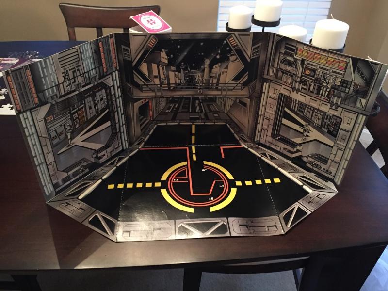 Vintage Death Star Tie Hangar Playset Image10