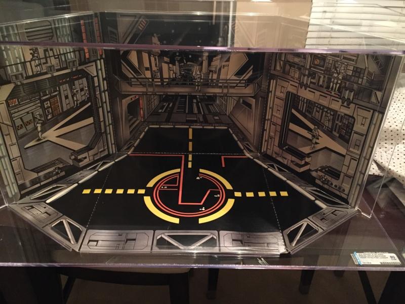 Vintage Death Star Tie Hangar Playset Image11