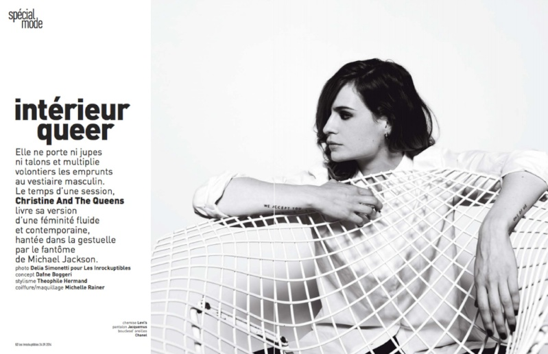 CHRISTINE & THE QUEENS - Queen of Pop. - Page 4 41d77811