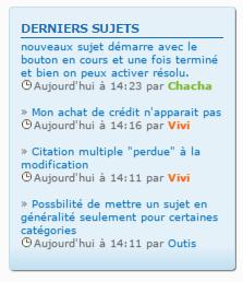 """(1386) Problème d'affichage du widget """"derniers sujets"""" sous chrome et opéra . Opyra10"""