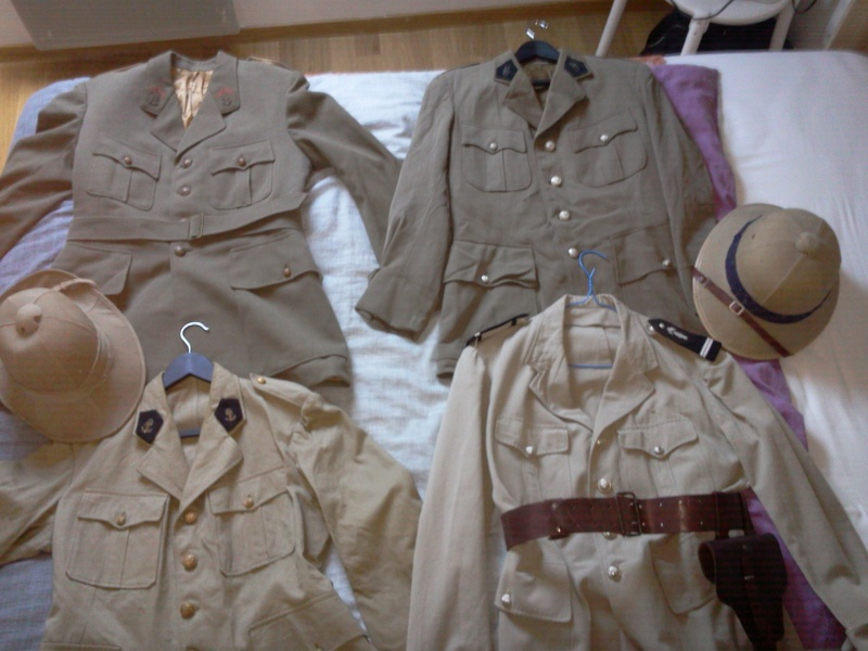 Ma collection : uniformes-coiffures-archives de la Coloniale et la colonisation Photo031