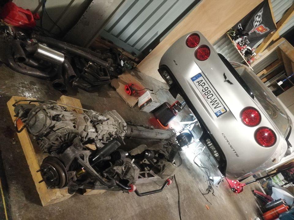 Corvette C6 silver black + passage banc + prépa AAC - Page 8 89035910